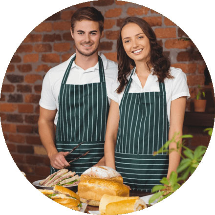 Restaurant and Cafe food and beverage solutions